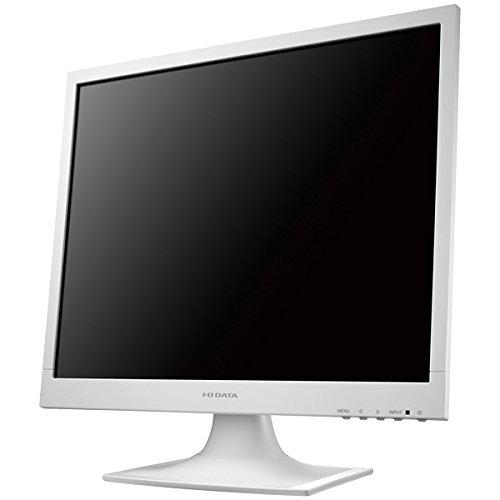 I-O DATA 19型スクエア液晶ディスプレイ ホワイト LCD-AD192SEDSW