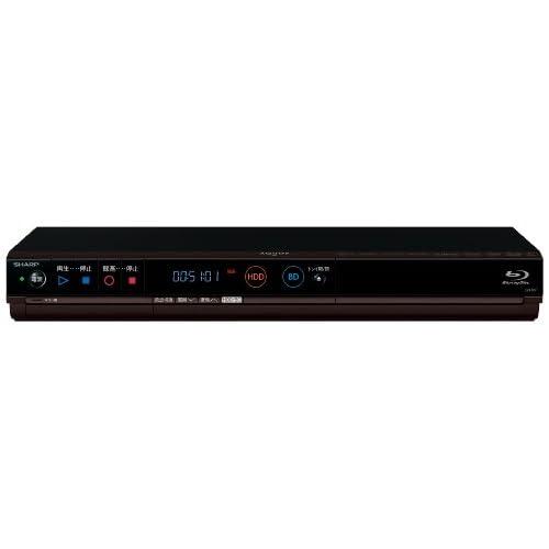 SHARP AQUOS ブルーレイディスクレコーダー 500GB シングルチューナー 3D対応 かんたんシリーズ BD-H51