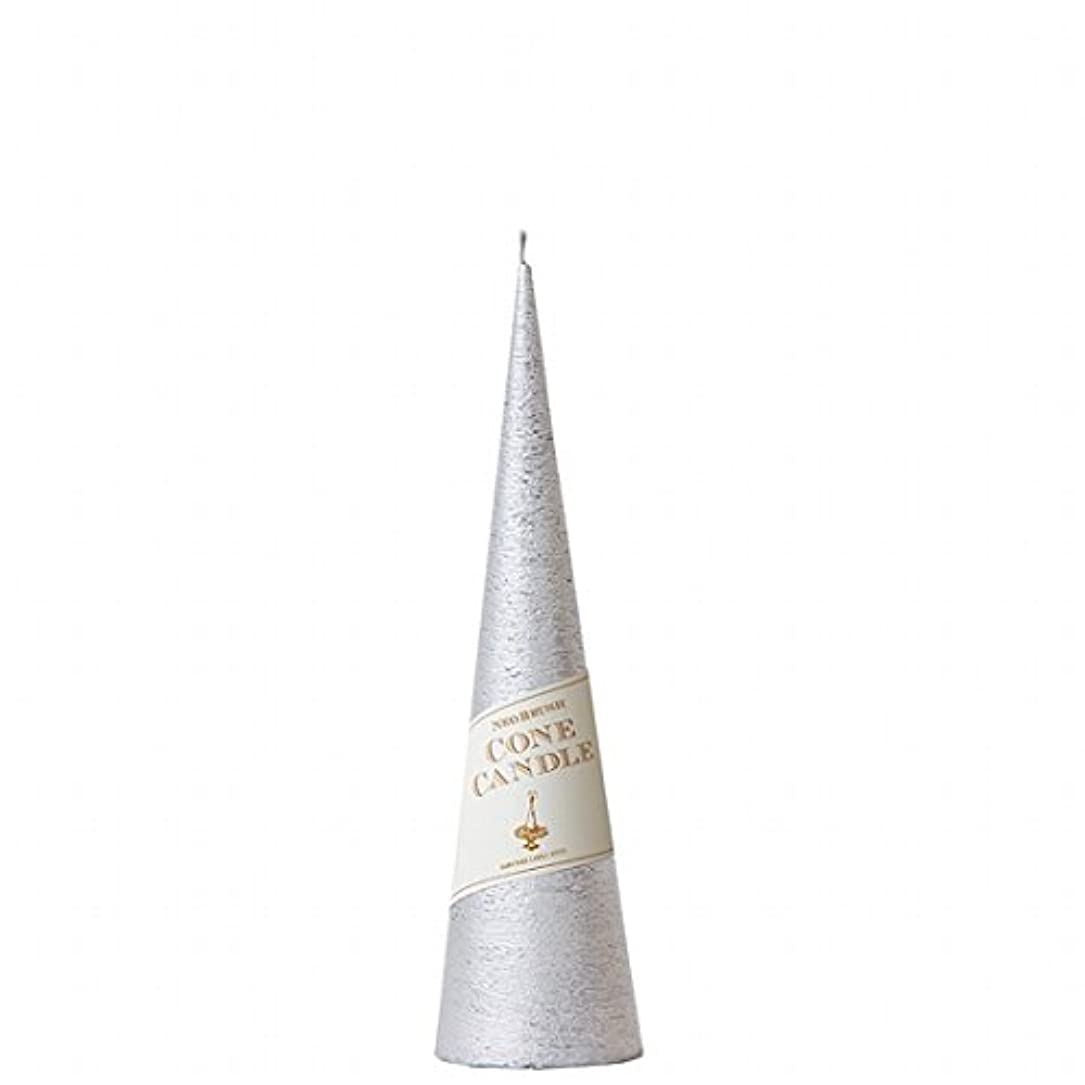 うっかり信頼配置カメヤマキャンドル( kameyama candle ) ネオブラッシュコーン 230 キャンドル 「 シルバー 」