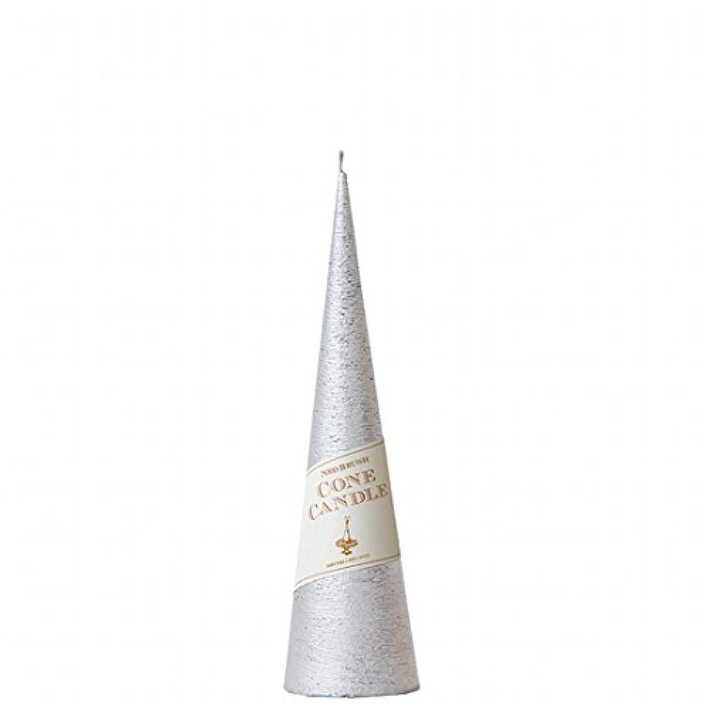 墓頭肘掛け椅子カメヤマキャンドル( kameyama candle ) ネオブラッシュコーン 230 キャンドル 「 シルバー 」