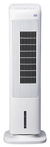 スリーアップ 加湿機能付き スリムタワー温冷風扇「ヒート&クール」 ホワイト EFT-1704WH