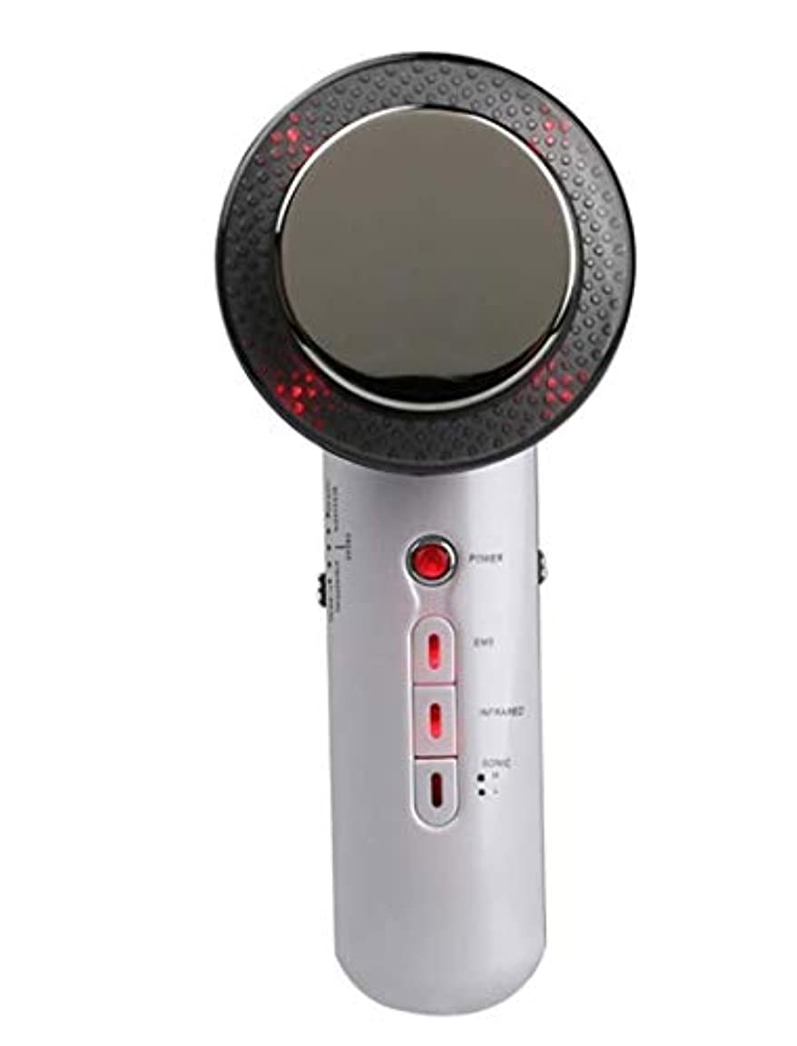 メンタリティケージ削減減量デバイス、電気ハンドヘルド超音波EMSボディマッサージャー、ポータブル脂肪エリミネーター