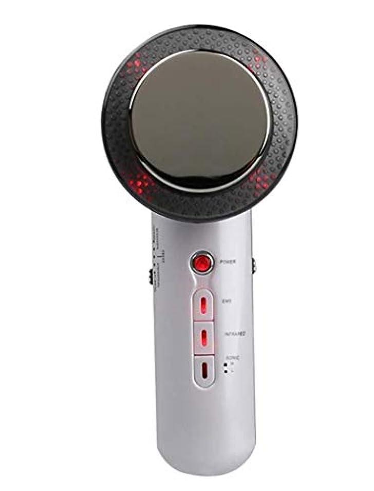 講師子羊感謝祭減量デバイス、電気ハンドヘルド超音波EMSボディマッサージャー、ポータブル脂肪エリミネーター