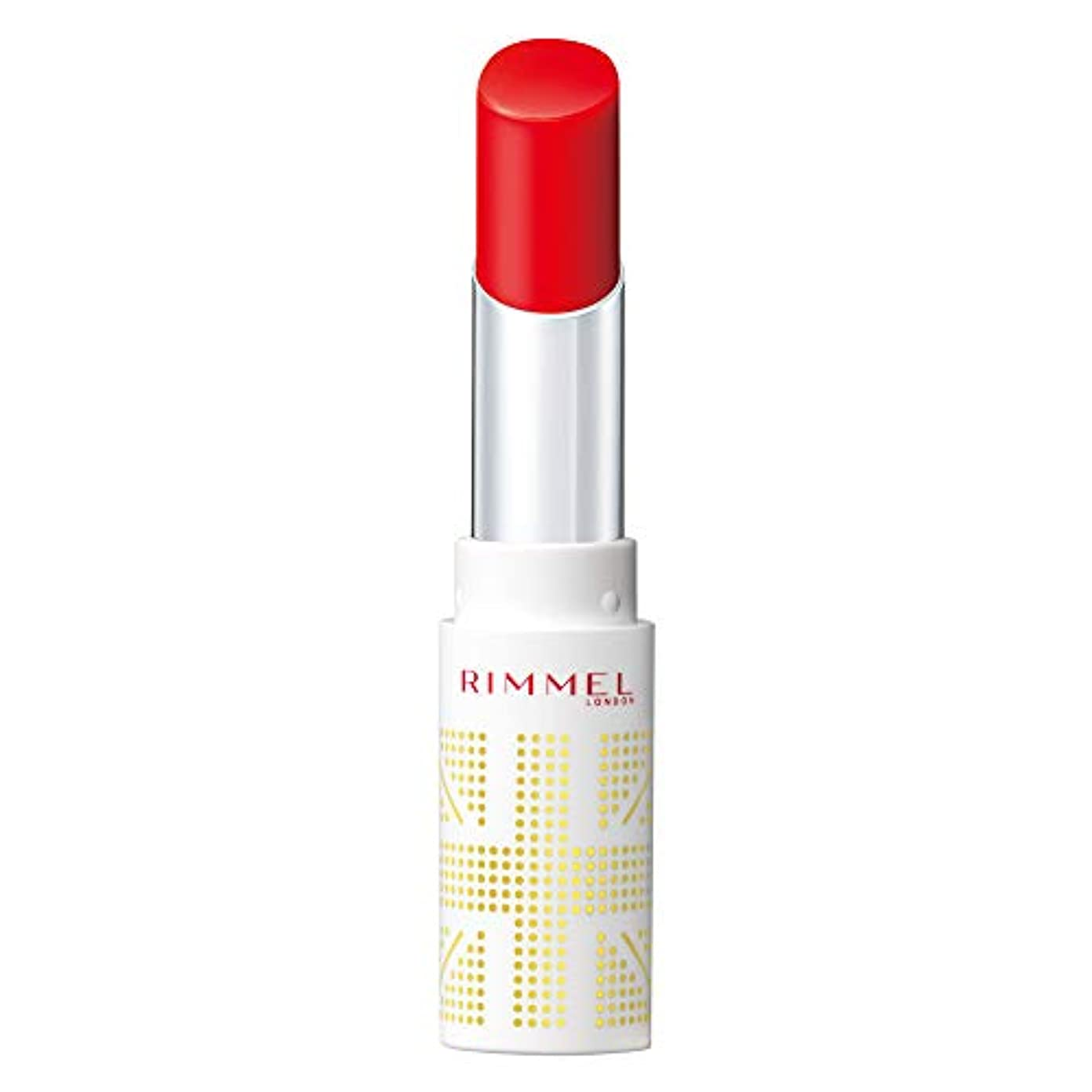 遠い扇動する抽出Rimmel (リンメル) リンメル ラスティングフィニッシュ オイルティントリップ 002 マンダリンレッド 3.8g 口紅