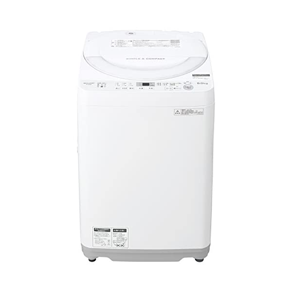 シャープ 全自動洗濯機 ステンレス穴なし槽 6...の紹介画像2