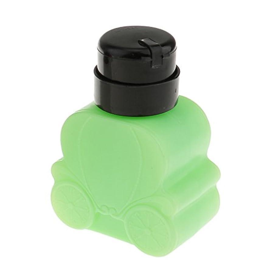 マイクグロー動物DYNWAVE 空き瓶 空のネイルボトル 約8x10x5cm ビューティー 携帯便利