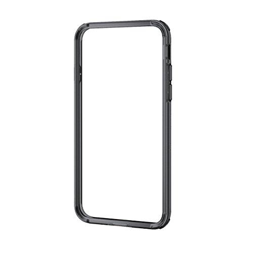 エレコム iPhone8/ハイブリッド バンパー ブラック PM-A17MHVBBK 1個