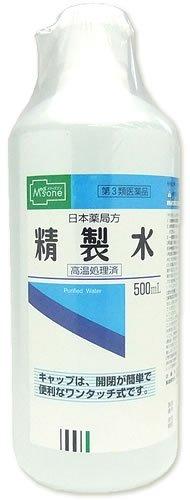 【第3類医薬品】メディズワン 健栄製薬 日本薬局方 精製水 500mL