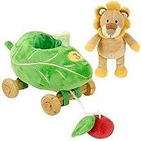 FAO Schwarz Baby Lion Pull Toy [並行輸入品]