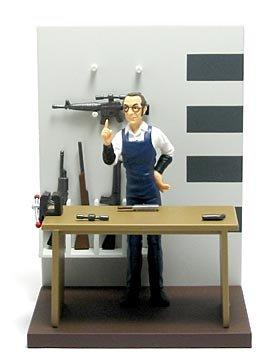 ゴルゴ13 フィギュアコレクション デイブと武器セット B 単品 フルタ
