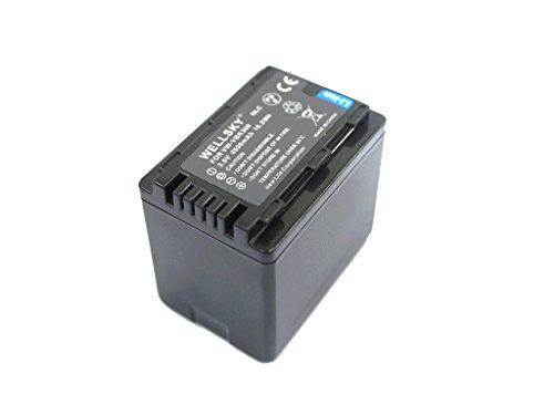 [WELLSKY] Panasonic パナソニック VW-VBK360-K 互換バッテリー [ 純正充電器で充電可能 残量表示可能 純正品と同じよう使用可能 ] HDC-TM70 / HDC-TM60 / HDC-HS60 / HDC-TM35 / HDC-TM90 / HDC-TM95 / HDC-TM85 / HDC-TM45 / HDC-TM25 / HC-V700M / HC-V600M / HC-V300M / HC-V100M