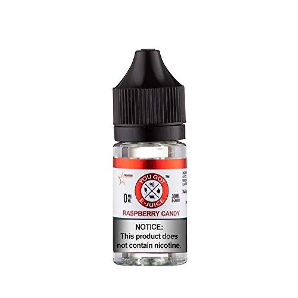 製品シャツ輪郭大人気 You Got E-Juice VAPE 電子タバコ リキッド USA産 (Raspberry Candy, 30ml)