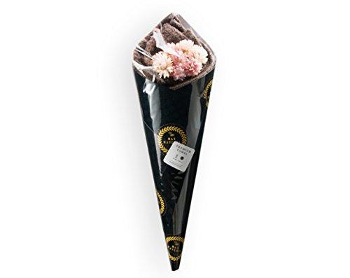 MAXMATERIA マックスマテリア HYBRID バスタオル FLOWER (ナチュラルアンバー) 花束 タオル