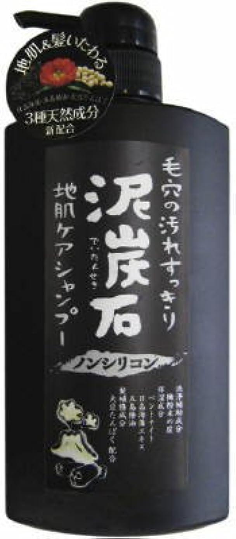 良いとティームモスペリカン石鹸 ペリカン 泥炭石 地肌ケアシャンプー 500ml ひのきハーブの爽やかな香り ×24点セット (4976631649252)