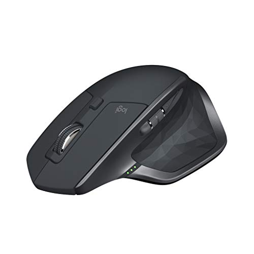 ロジクール ワイヤレスマウス 無線 マウス MX Master 2S MX2100sGR Unifying Bluetooth 高速充電式 FLOW対応 7ボタン windows mac iPad OS 対応 MX2100s グラファイト 国内正規品 2年間無償保証