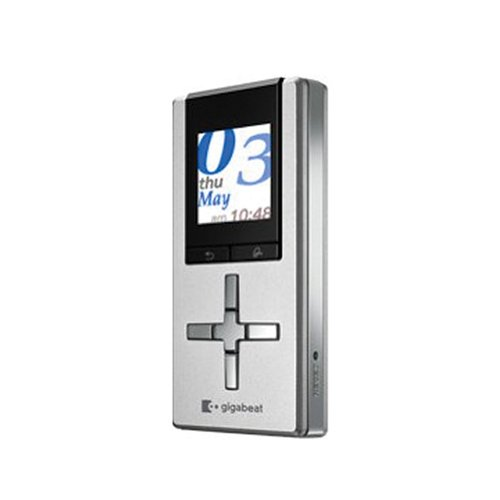 [해외]Toshiba Gigabeat u-series 휴대용 미디어 플레이어 2 GB (실버)/Toshiba Gigabeat u-series Portable Media Player 2 GB (Silver)