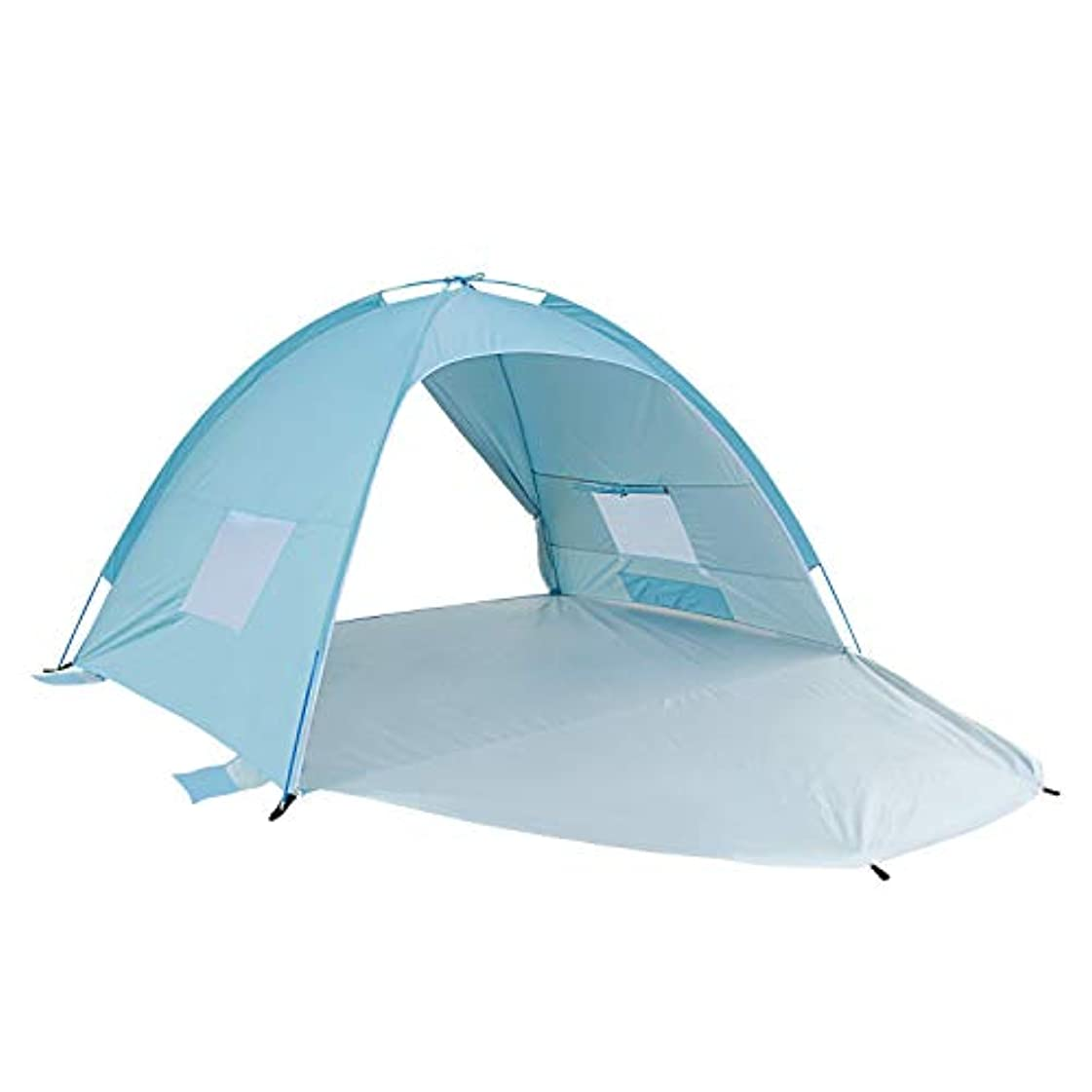 パイロットダイバー土ALPIKA Beach Tent Sun Shelter 2-3 Person Camping Tent UV Protection Easy Setup Tent for Outdoor [並行輸入品]