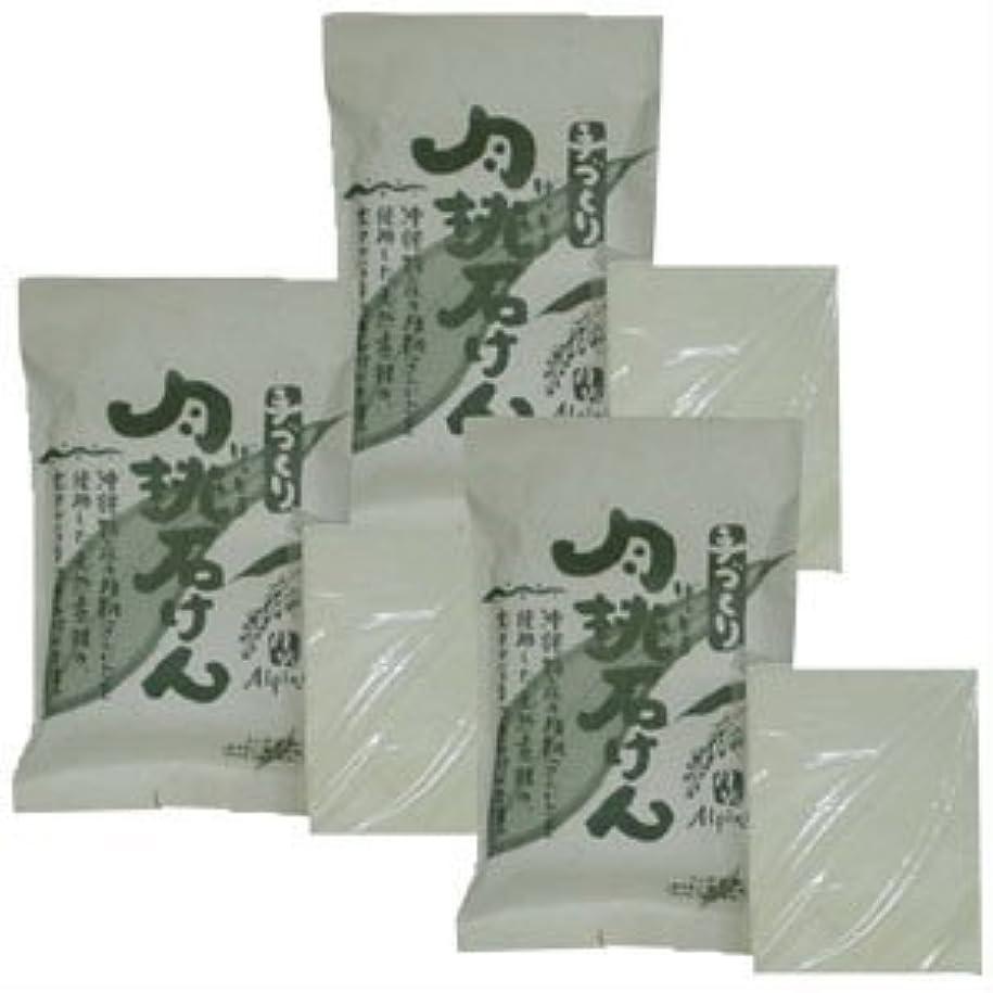 影響を受けやすいです一人で単なる沖縄県産 月桃石けん/台所用石鹸(100g×3個)