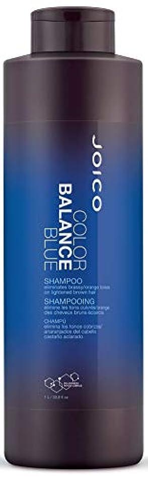 アルミニウム待って小石ジョイコ Color Balance Blue Shampoo (Eliminates Brassy/Orange Tones on Lightened Brown Hair) 1000ml/33.8oz並行輸入品