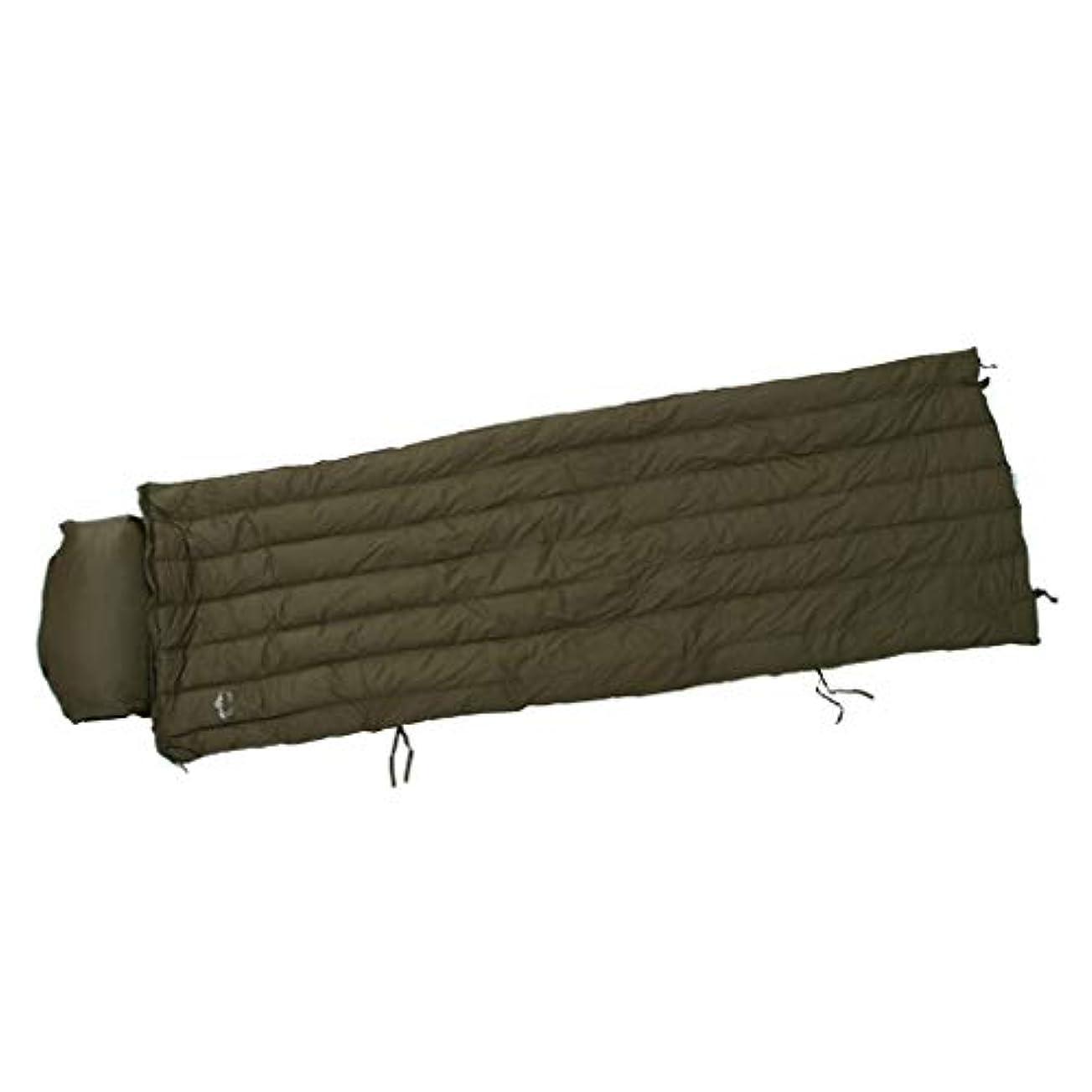 気難しいから聞くかび臭いToygogo キャンプ用ハイキング旅行アウトドア用の圧縮袋と枕、ポータブル、軽量の涼しい大人の寝袋