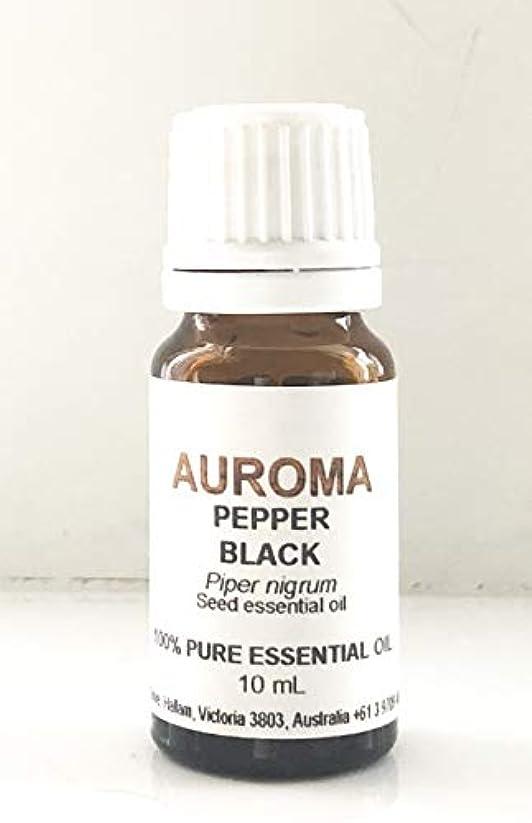 吸収するフリンジ淡いAUROMA ブラックペッパー 10ml
