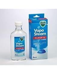 喉に潤いとリフレッシュ感を与えるアロマテラピー液!加湿器から噴出されるスチームとともにメンソール成分の入ったリフレッシュ液の香りが一緒に発散!
