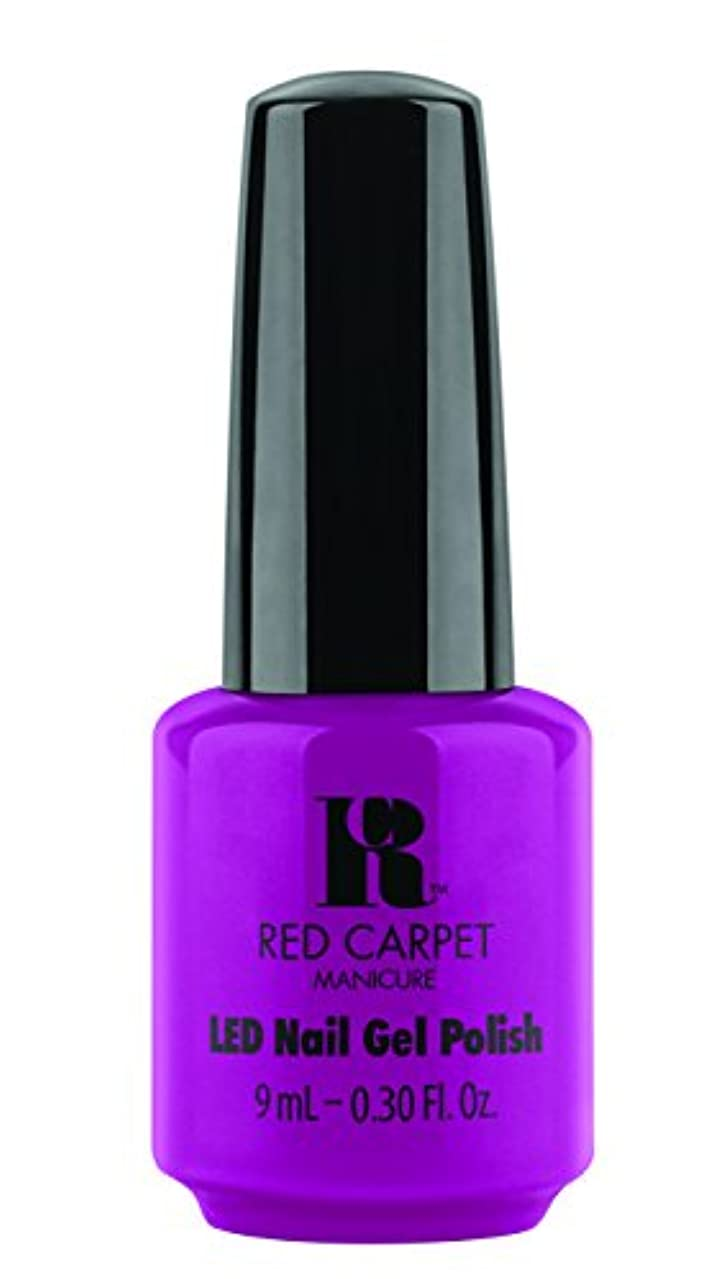 重大空港農民Red Carpet Manicure - LED Nail Gel Polish - Wild Child - 0.3oz / 9ml
