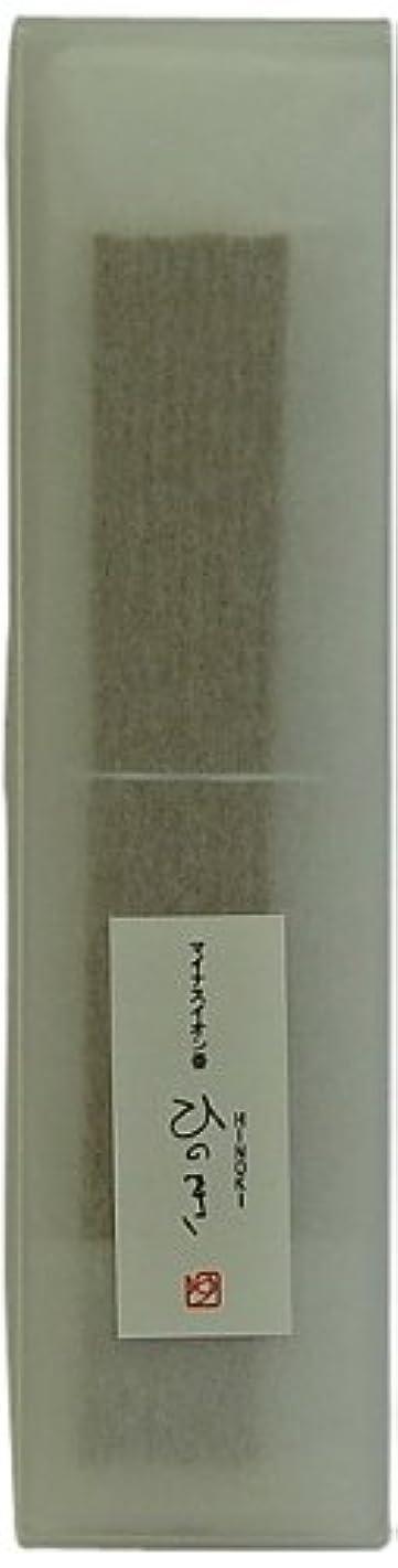 ライムキャビン分析的悠々庵 和のマイナスイオン香 箱 ひのき