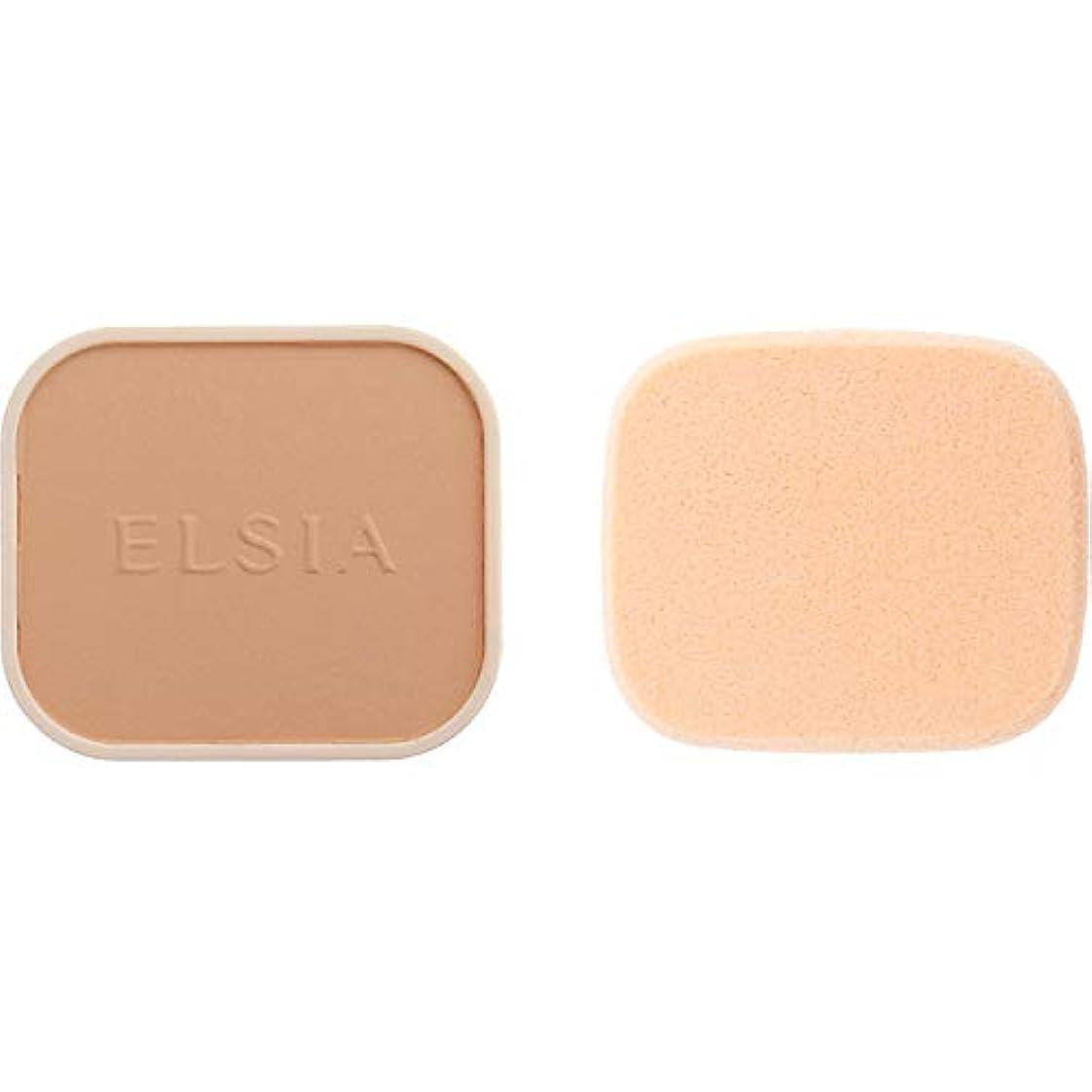 締める宝構成するエルシア プラチナム 化粧のり良好 モイストファンデーション(レフィル) オークル 410 9.3g