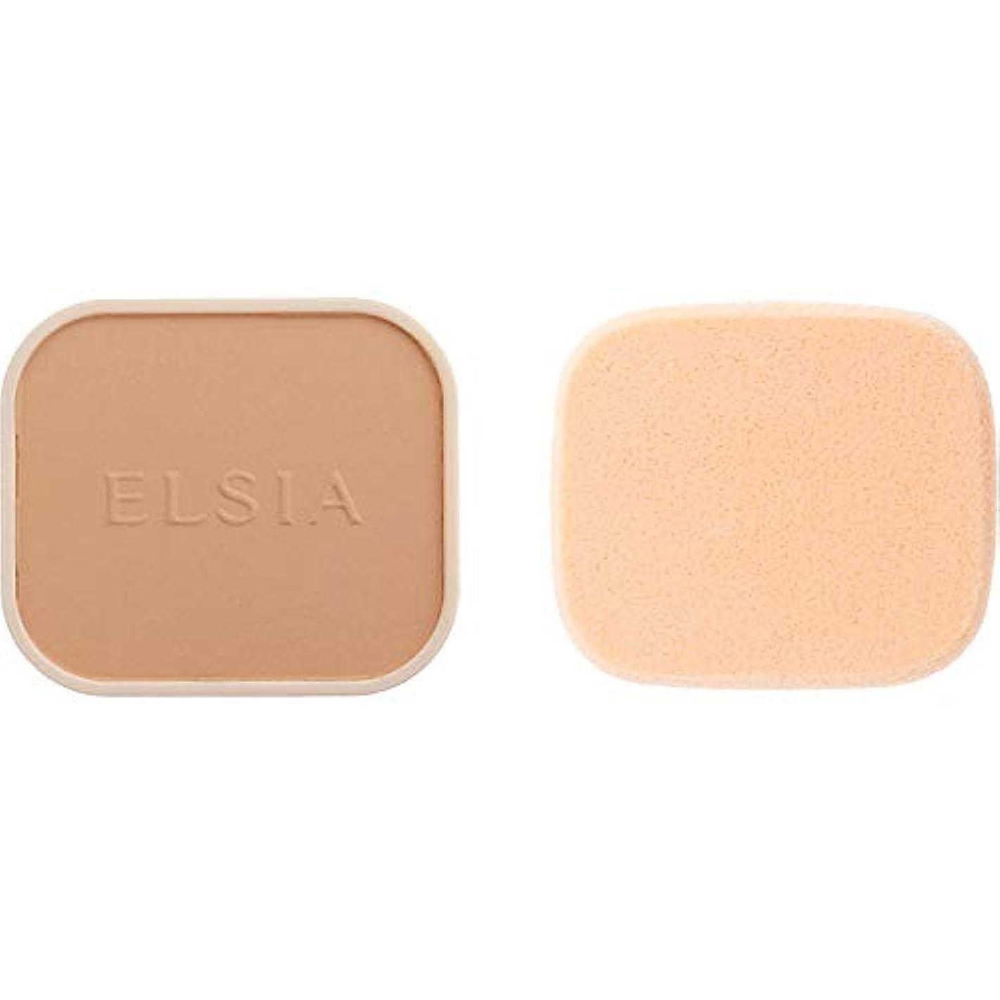 強度退屈乳エルシア プラチナム 化粧のり良好 モイストファンデーション(レフィル) オークル 410 9.3g