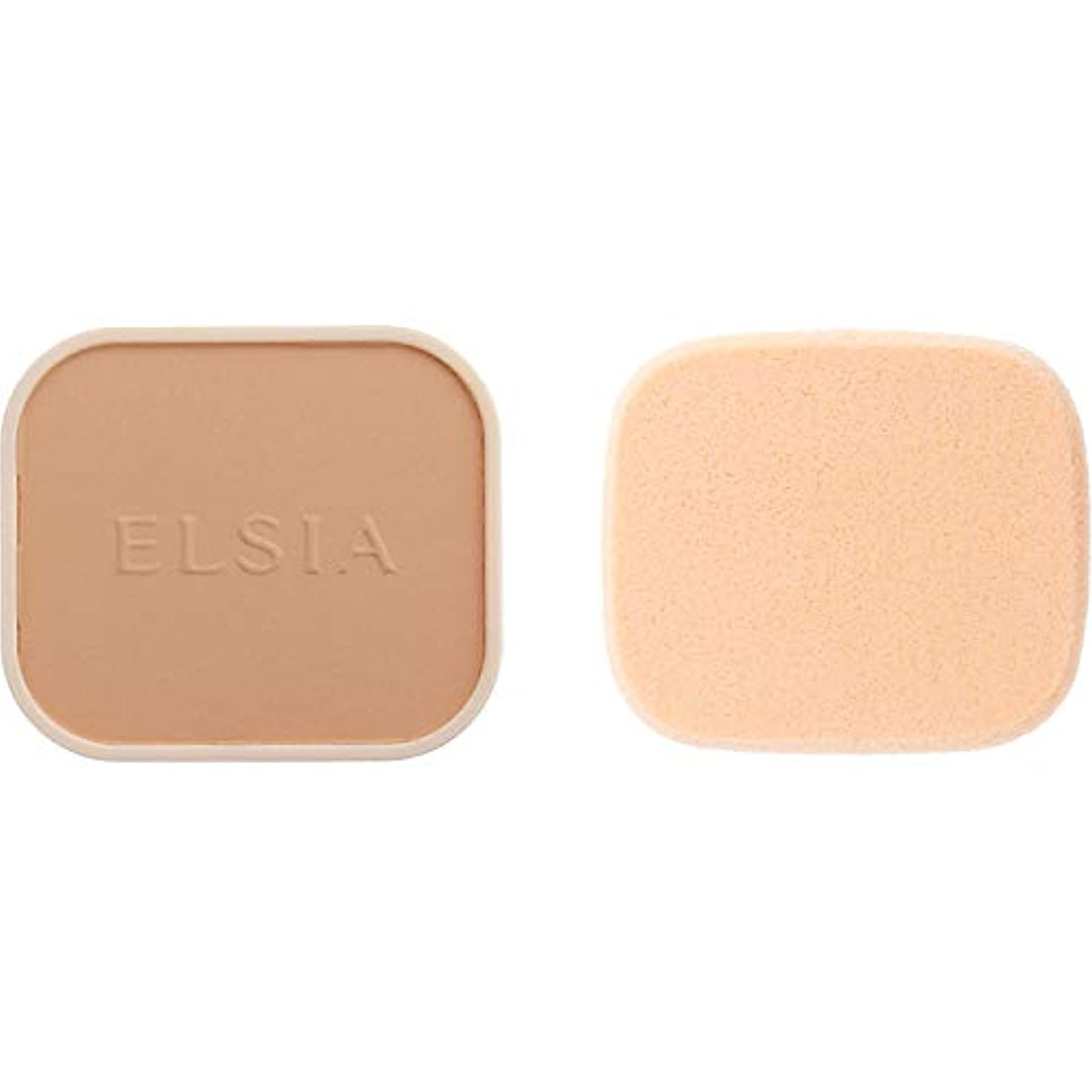 かすかなサイドボードもっと少なくエルシア プラチナム 化粧のり良好 モイストファンデーション(レフィル) オークル 410 9.3g