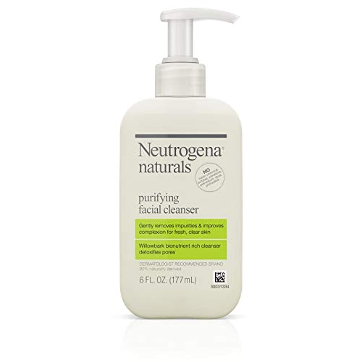 クランシー収益ブロックNeutrogena Naturals Purifying Facial Cleanser 175 ml (並行輸入品)