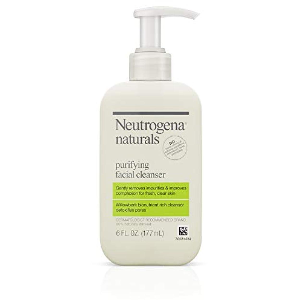 ほんのシビック美徳Neutrogena Naturals Purifying Facial Cleanser 175 ml (並行輸入品)