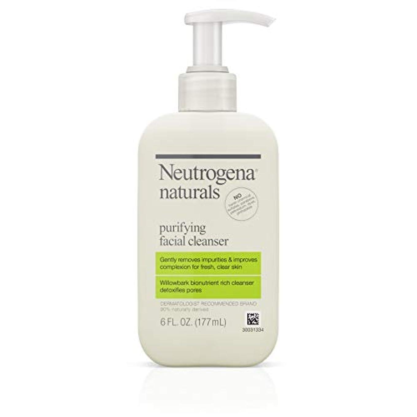 Neutrogena Naturals Purifying Facial Cleanser 175 ml (並行輸入品)