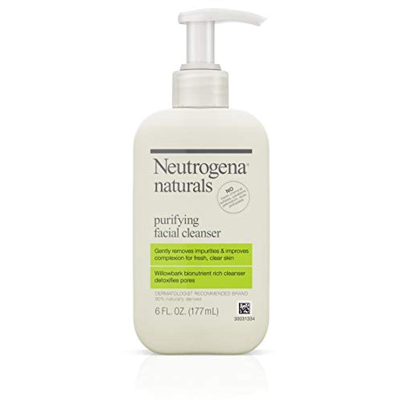 ラリー推論切手Neutrogena Naturals Purifying Facial Cleanser 175 ml (並行輸入品)