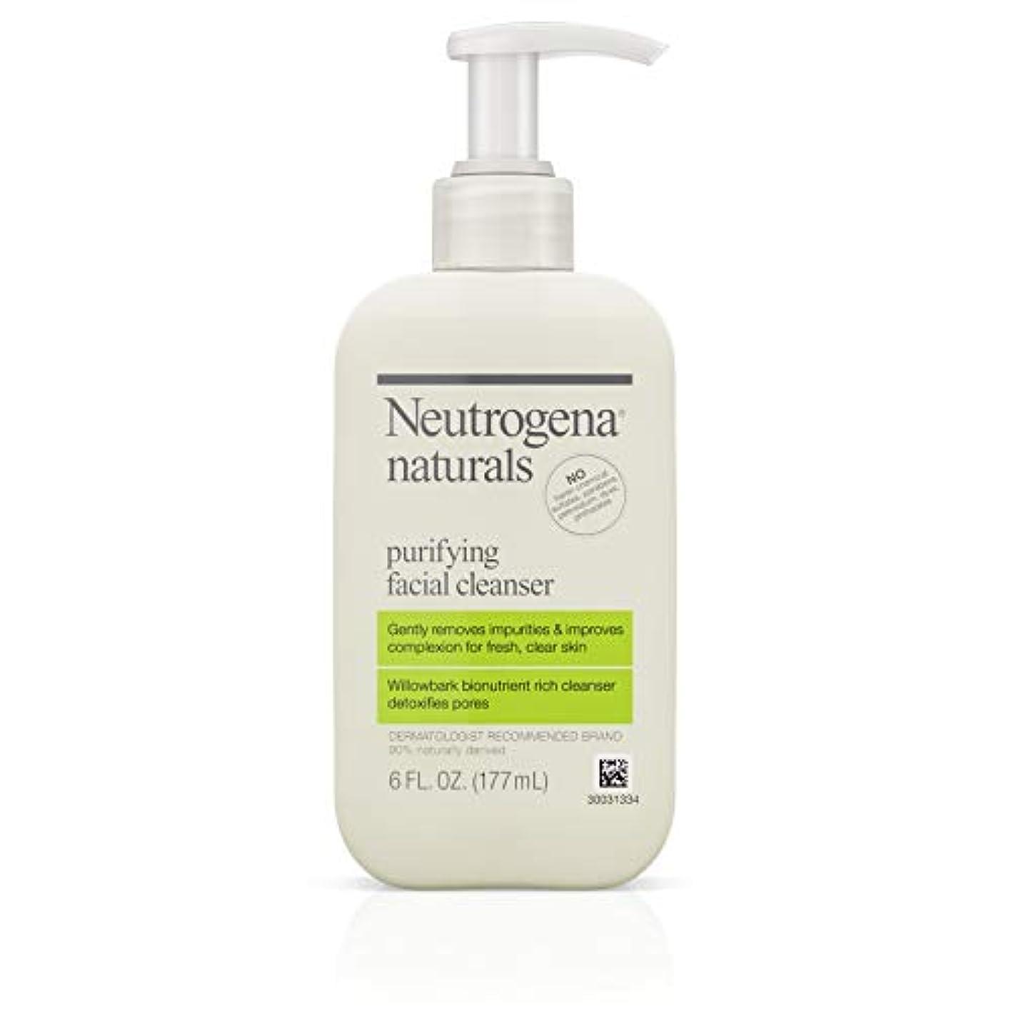 ビジョンどう?透過性Neutrogena Naturals Purifying Facial Cleanser 175 ml (並行輸入品)