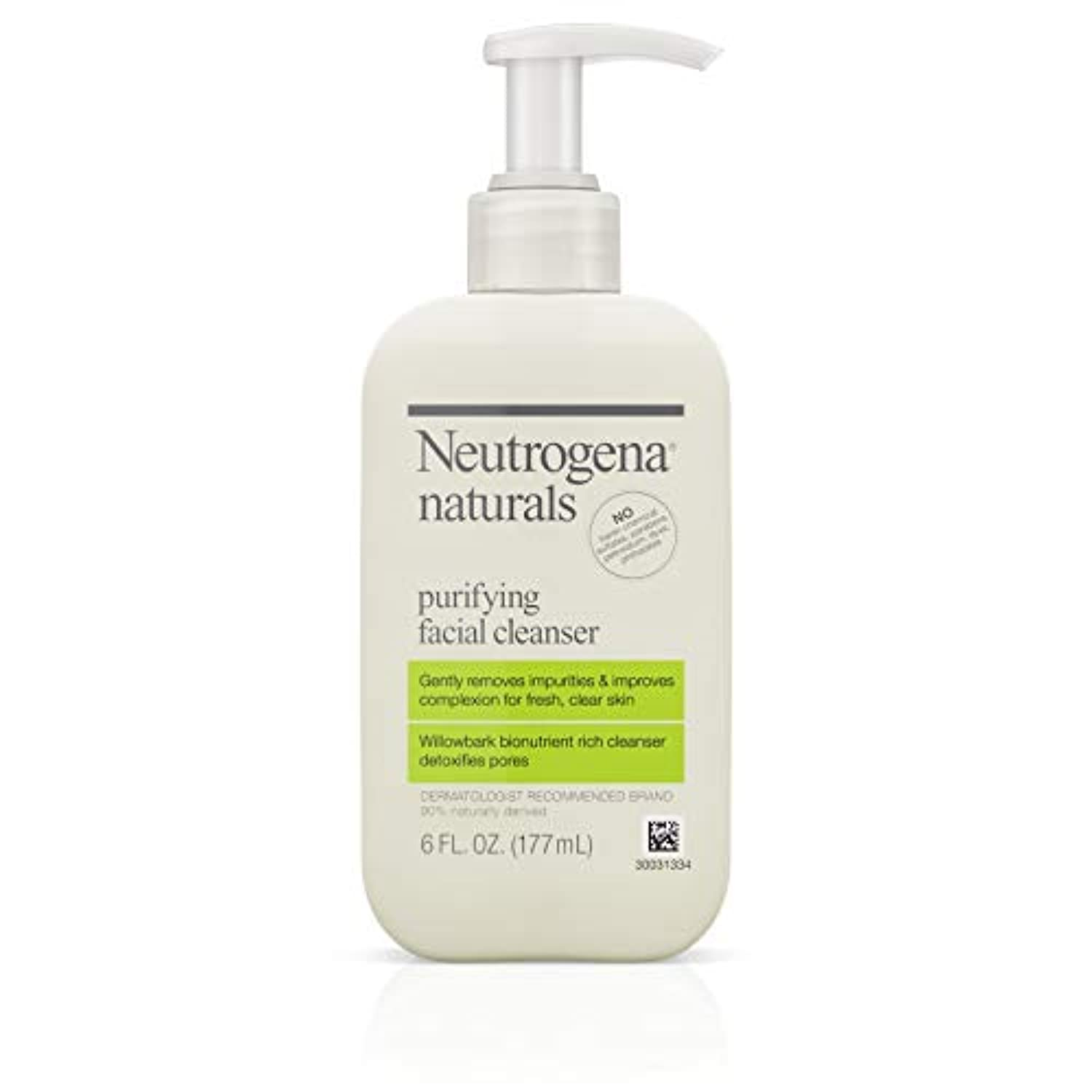 Neutrogena Naturals Purifying Facial Cleanser 175 ml (並行輸入品)