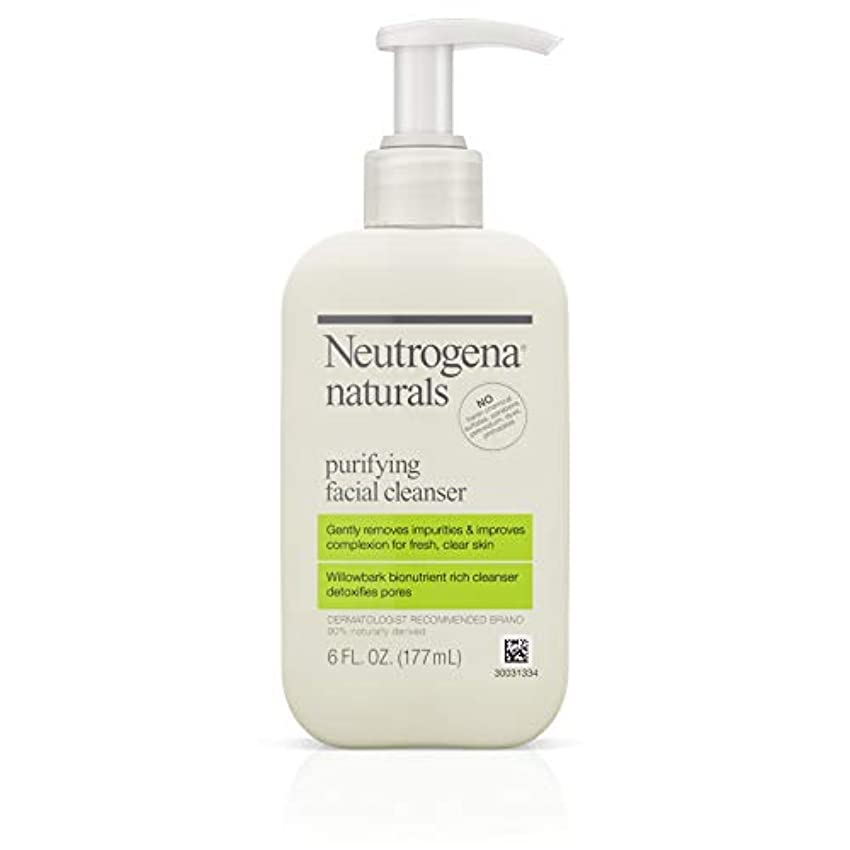 ヒゲ感心する対話Neutrogena Naturals Purifying Facial Cleanser 175 ml (並行輸入品)