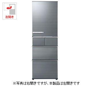 アクア 415L 5ドア冷蔵庫(チタニウムシルバー)【左開き】...