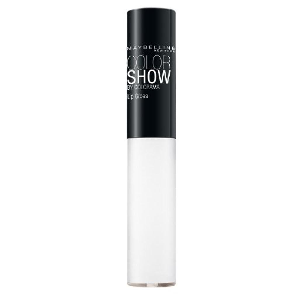 分解する保証チェリーMaybelline New York Color Show Lipgloss, 150 Crystal Clear, 1er Pack (1 x 5 ml)