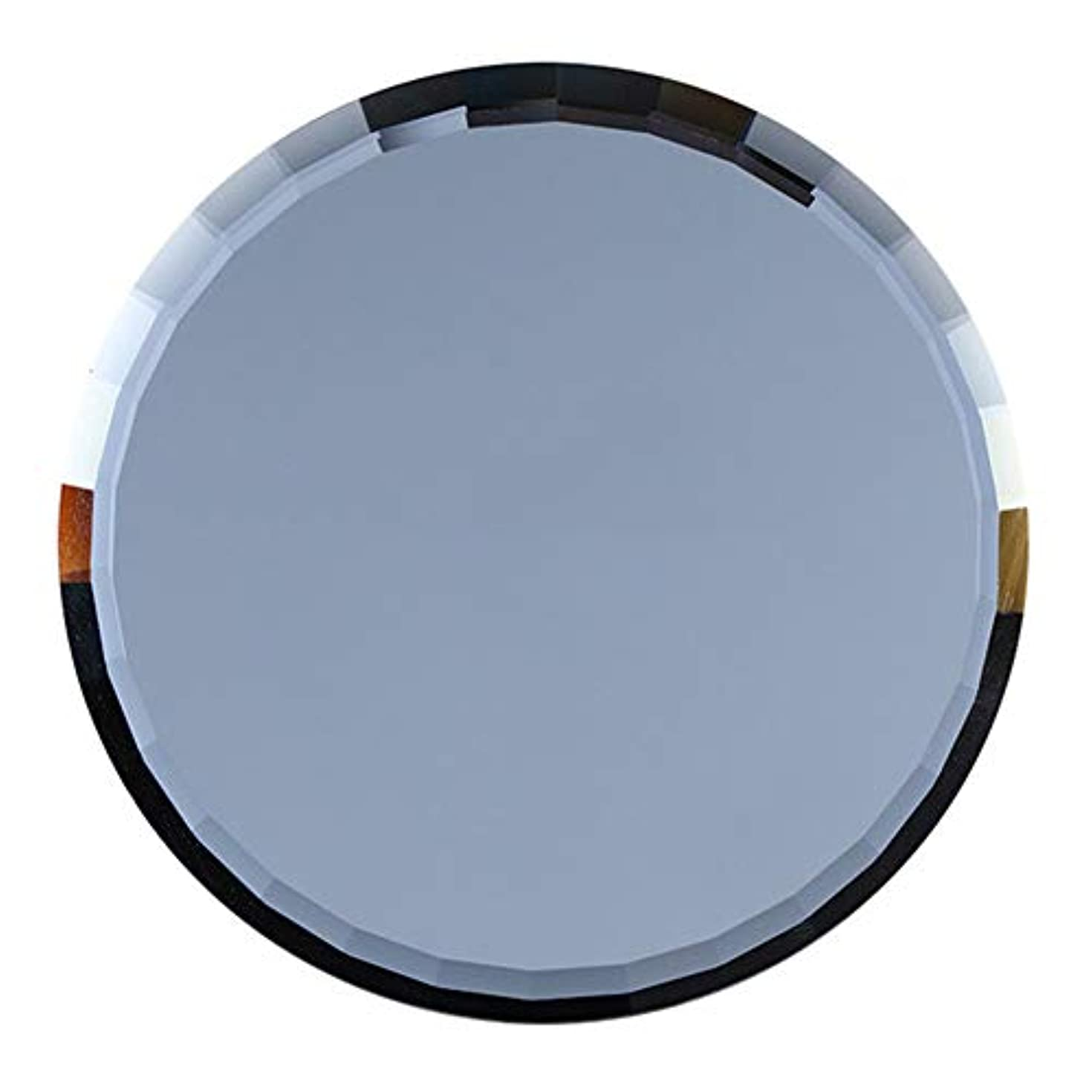 天窓余分な厚さslQinjiansavネイルアート&ツールディスプレイホルダーミラーガラスカラーパレット偽ネイルヒントディスプレイボード練習棚を示す - 青