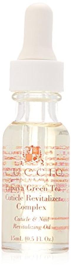 最も薬局脊椎パパイヤグリーンティ キューティクルオイル リバイタライザーコンプレックス 15ml