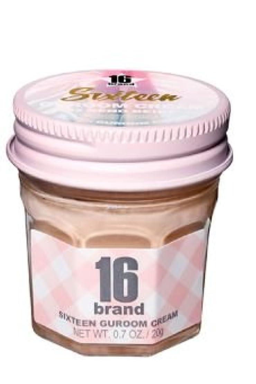 単語ノーブル退化する16brand Sixteen Guroom Cream Foundation 20g/16ブランド シックスティーン クルム クリーム ファンデーション 20g (#2 Sand Beige) [並行輸入品]