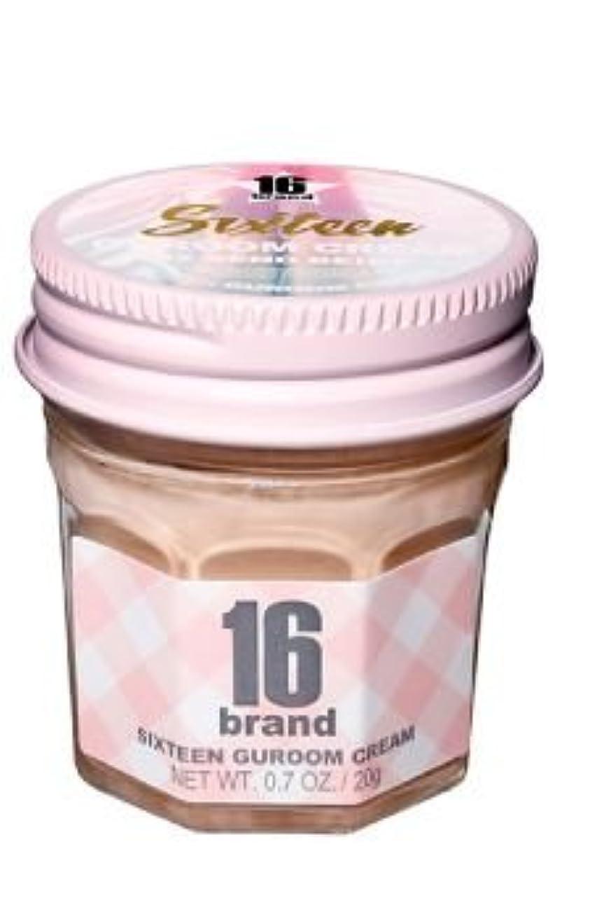 16brand Sixteen Guroom Cream Foundation 20g/16ブランド シックスティーン クルム クリーム ファンデーション 20g (#2 Sand Beige) [並行輸入品]