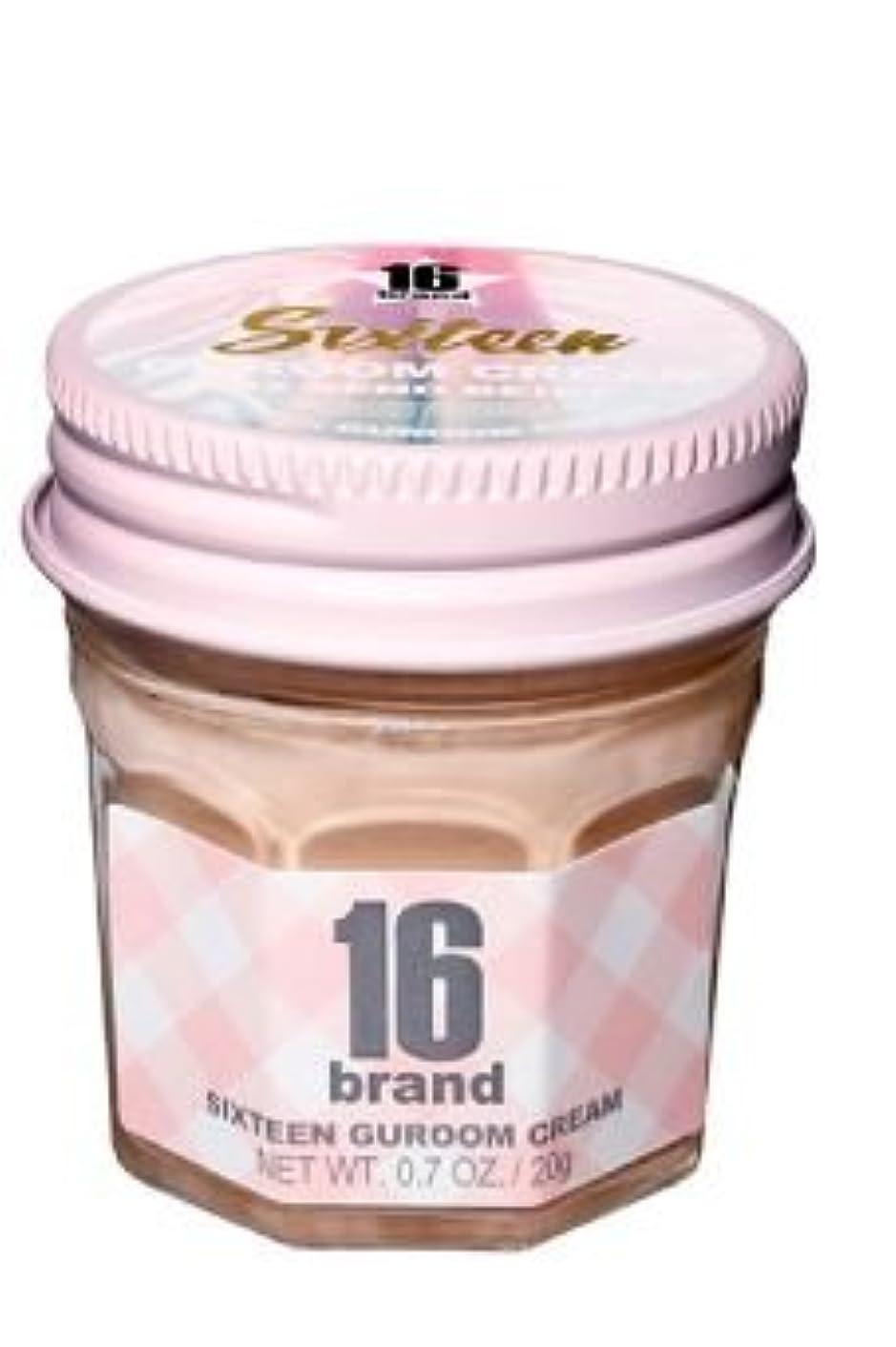 保護麦芽盲目16brand Sixteen Guroom Cream Foundation 20g/16ブランド シックスティーン クルム クリーム ファンデーション 20g (#2 Sand Beige) [並行輸入品]
