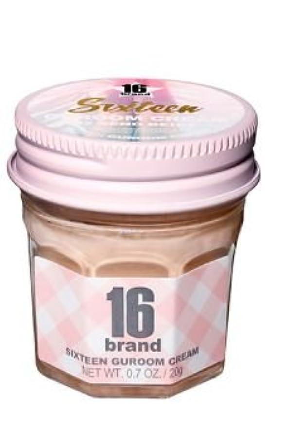 ユーモラスホーンパースブラックボロウ16brand Sixteen Guroom Cream Foundation 20g/16ブランド シックスティーン クルム クリーム ファンデーション 20g (#2 Sand Beige) [並行輸入品]