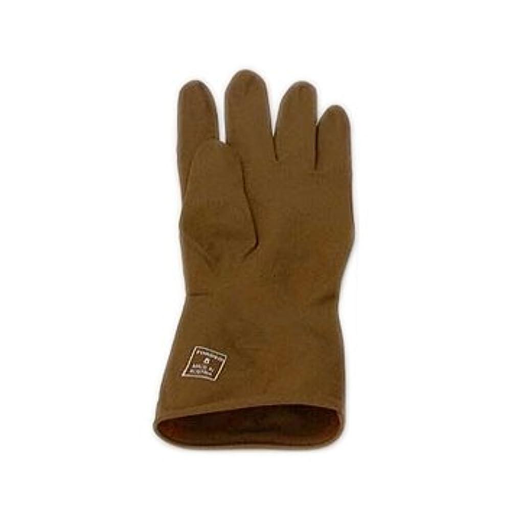 磁気透過性花トンデオ ゴム手袋 1双 6