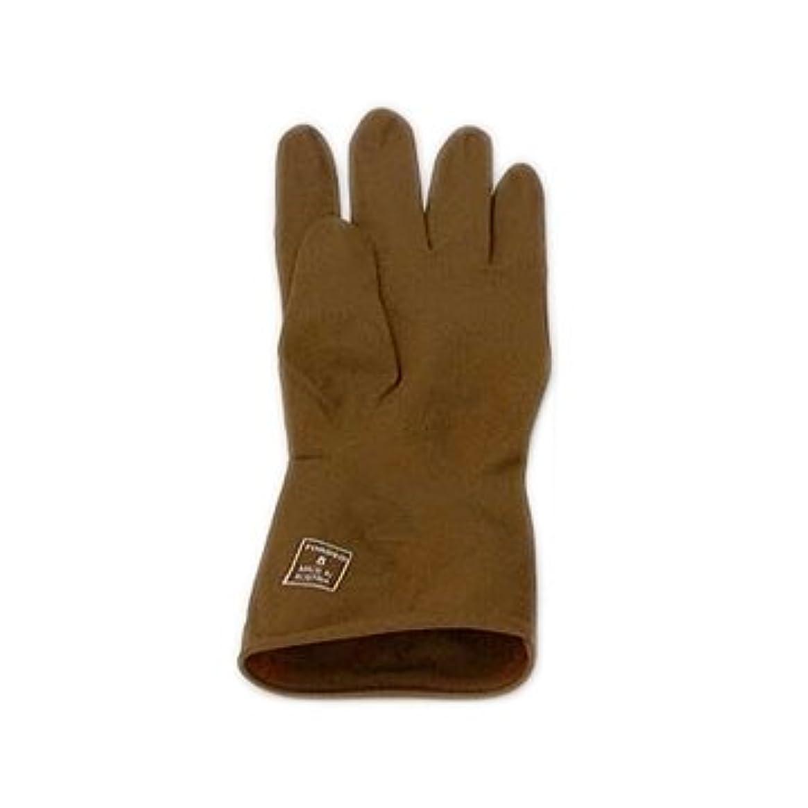 おびえた百便宜トンデオ ゴム手袋 8.5インチ