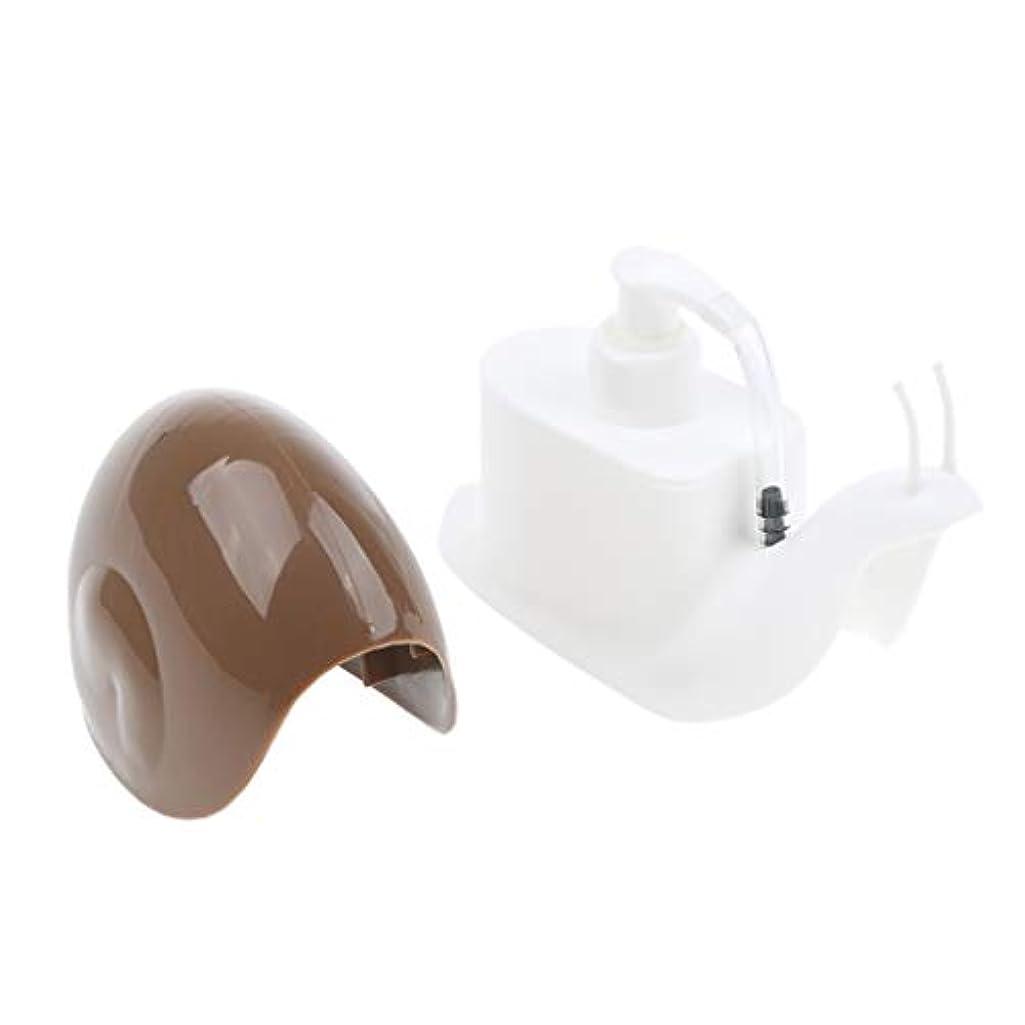 パステルシャツつばperfk ハンドソープボトル 石鹸箱ハンド 容器 詰替 ハンドソープ 全3選択 - コーヒー