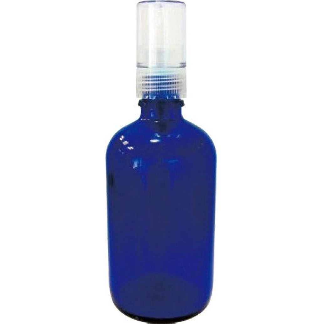 こんにちは不承認ビリーヤギ青色ガラススプレー瓶100ml